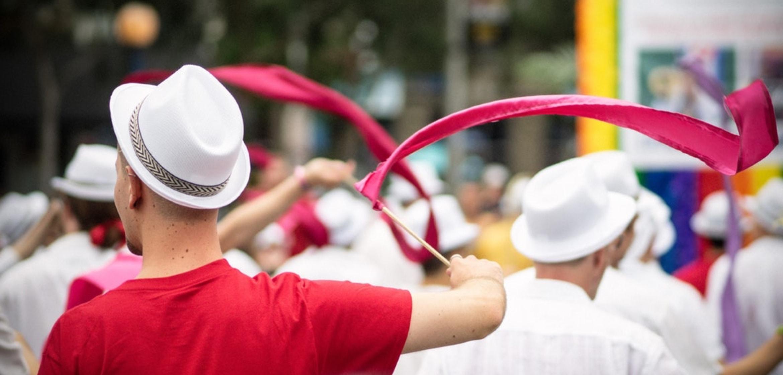 An image of a celebration depicting diversity