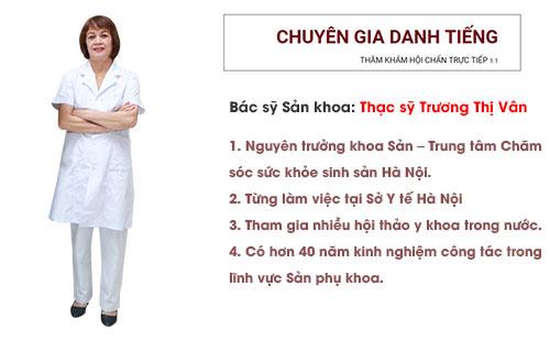 Bác sĩ Trương Thị Vân