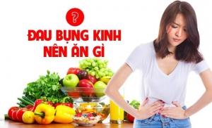 đau bụng kinh nên ăn gì