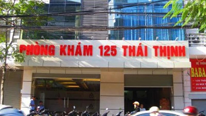 Phòng khám phụ khoa 125 Thái Thịnh