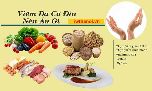 Bị viêm da cơ địa nên ăn gì và kiêng ăn những gì cho tốt?