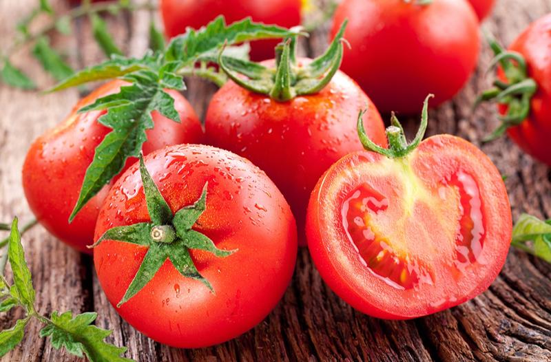 Trị mụn lưng bằng cà chua