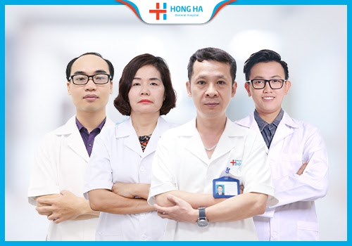 Đội ngũ y bác sĩ bệnh viện hồng hà