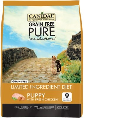 Canidae Dog Food Reviews >> Canidae Grain Free Pure Foundations Dog Food Review Recalls