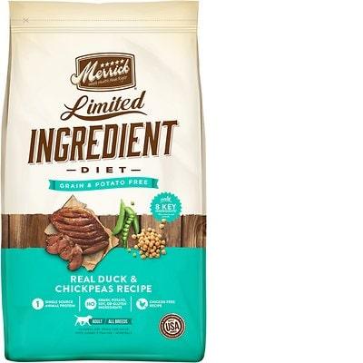 merrick limited ingredient diet grain-free duck recipe