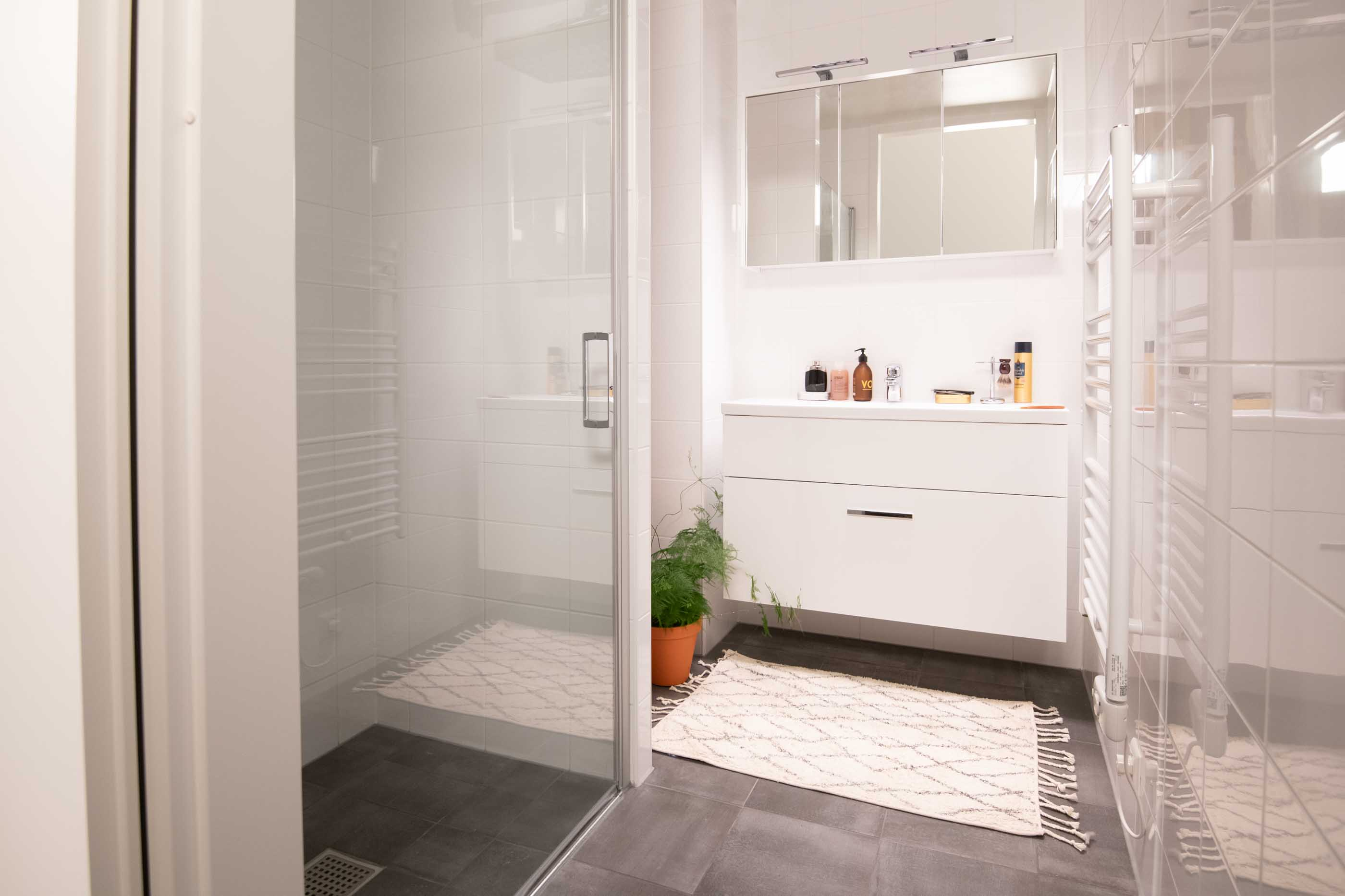 1-bedroom Apartment in OurDomain Amsterdam Diemen Interiors - Bathroom