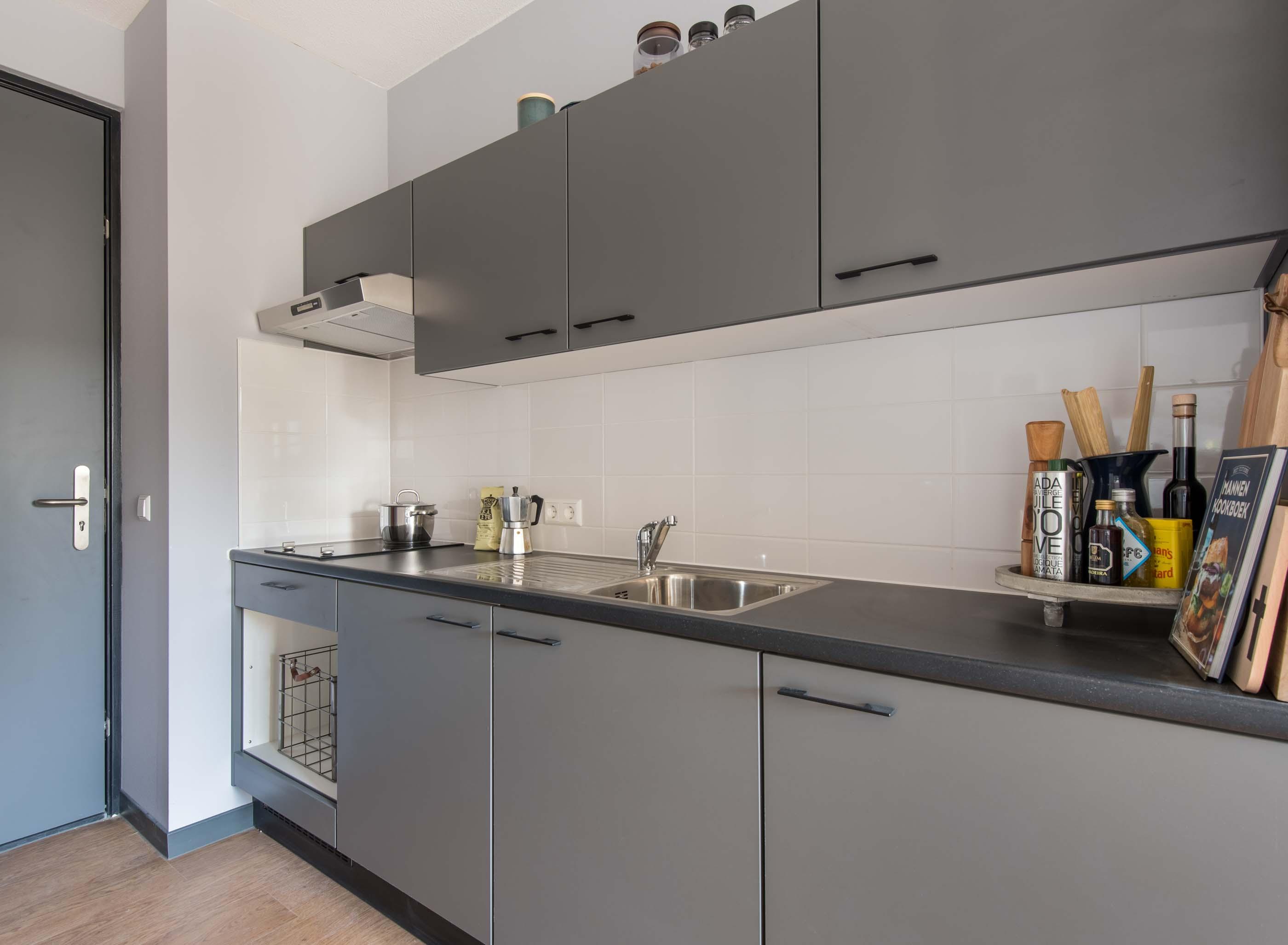 1-bedroom unfurnished apartment in OurDomain Amsterdam Diemen -kitchen