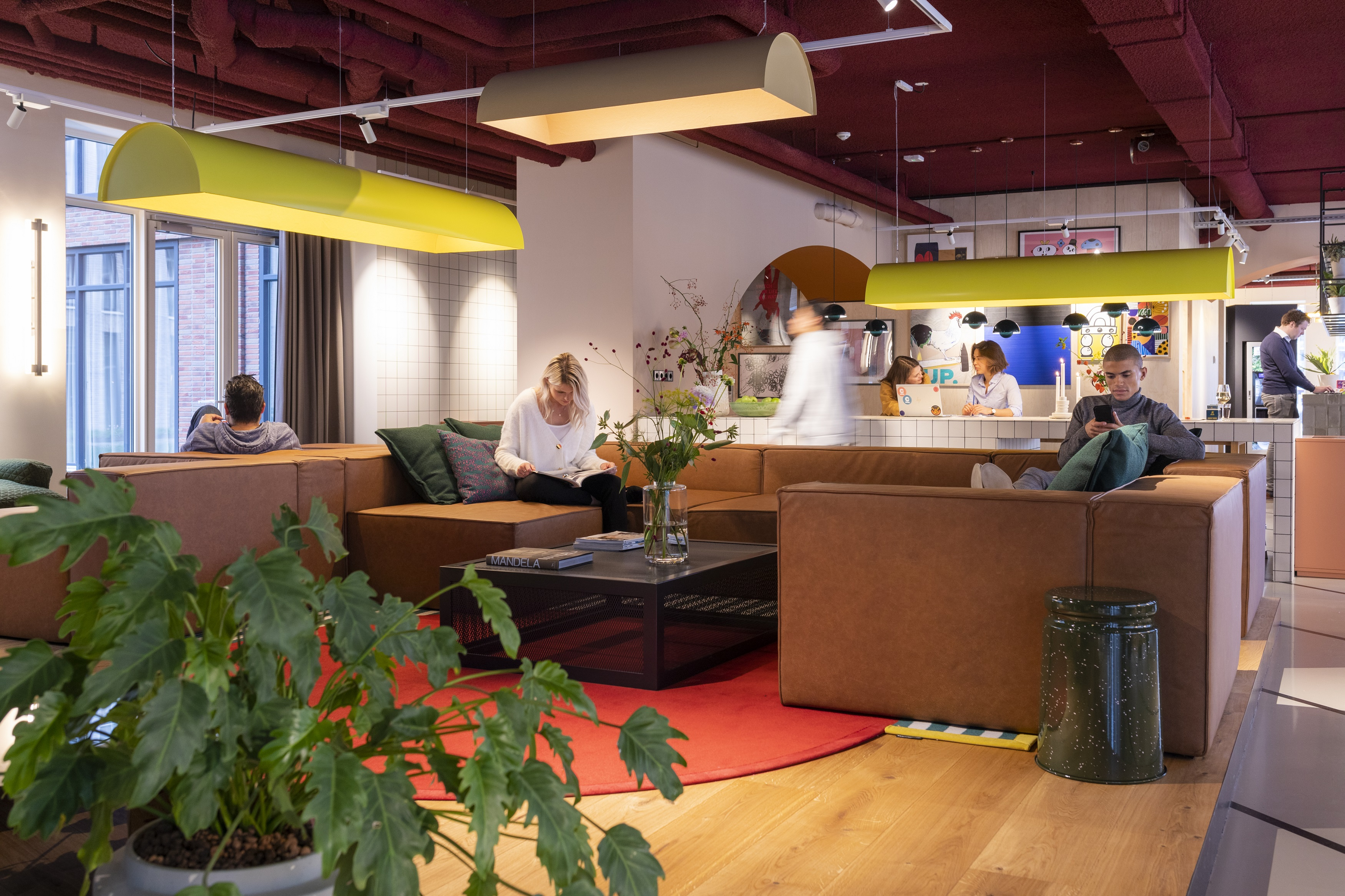 OurDomain Amsterdam Diemen Lounge with residents