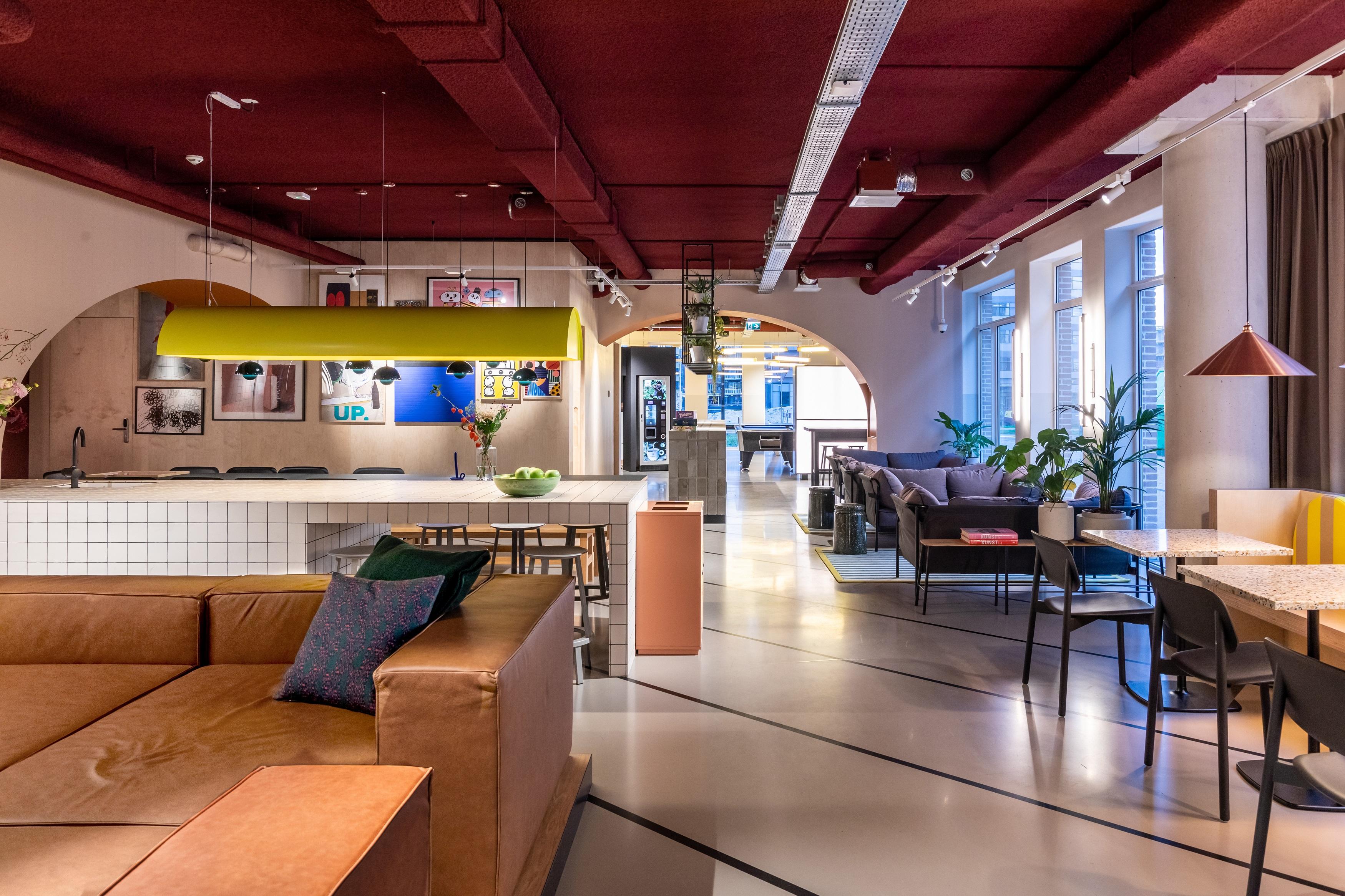 OurDomain Amsterdam Diemen Lounge area