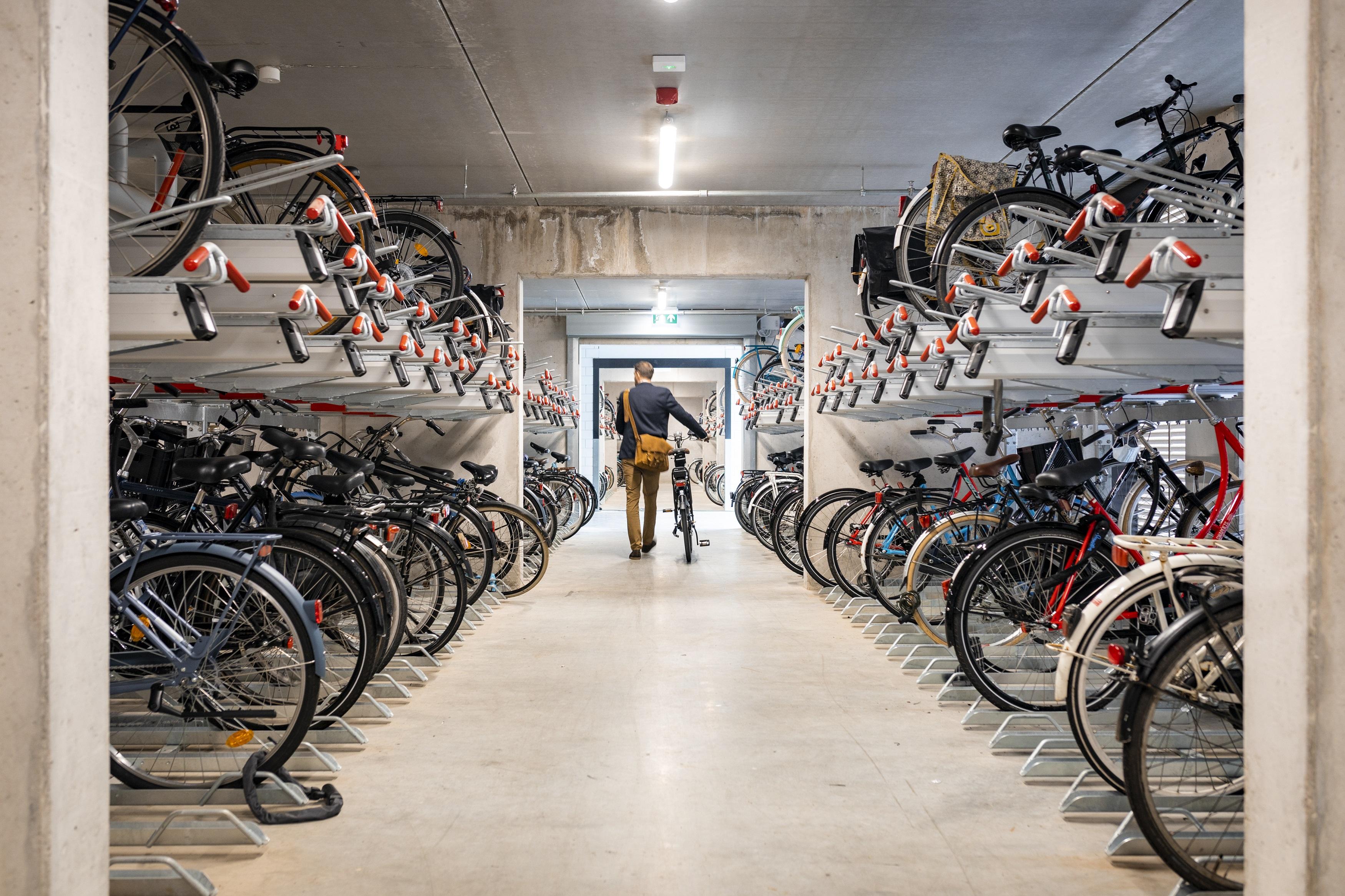 OurDomain Amsterdam Diemen bike storage