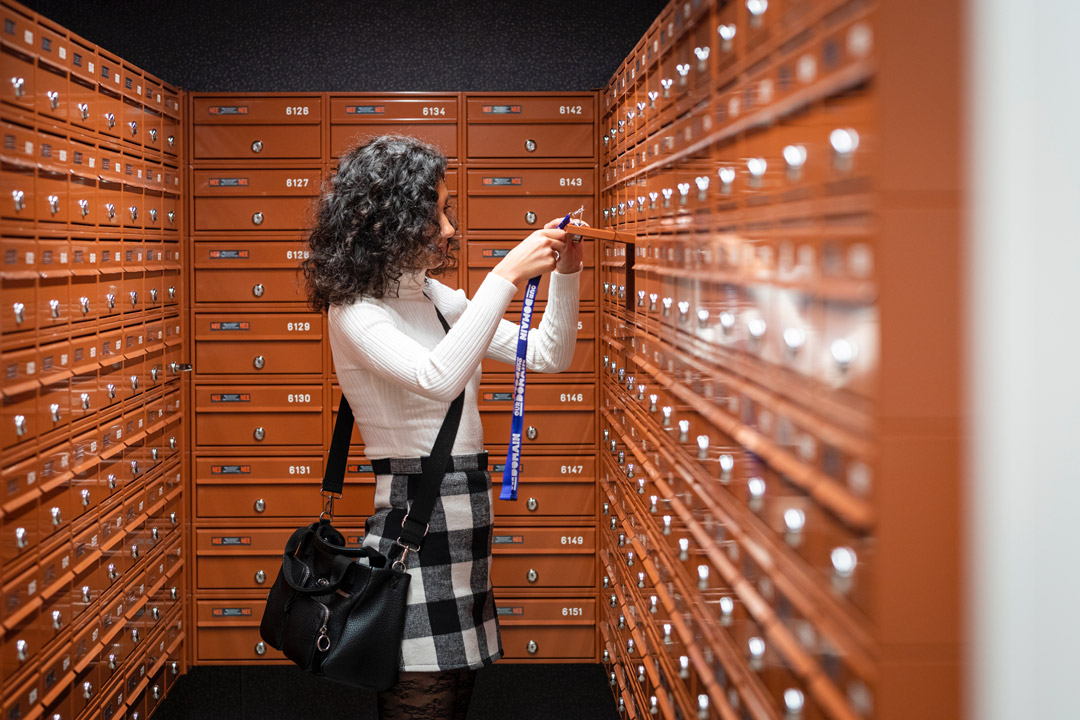 Lockers at OurDomain Amsterdam South East