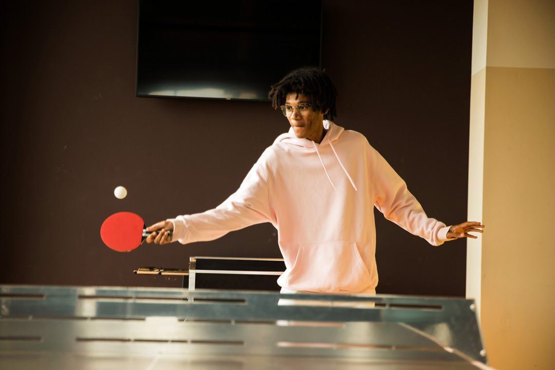 OurDomain Amsterdam South East Facilities: Game Room - Table tennis Thumbnail