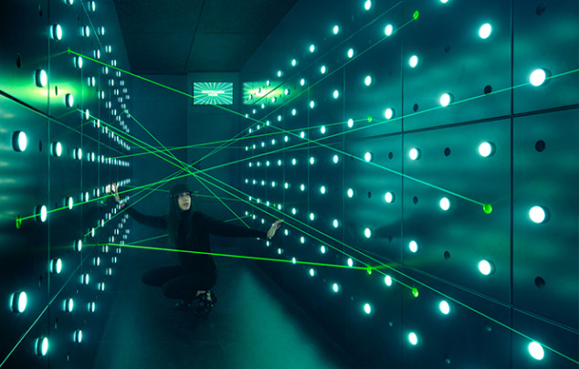 Photo of SPYSCAPE laser tunnel