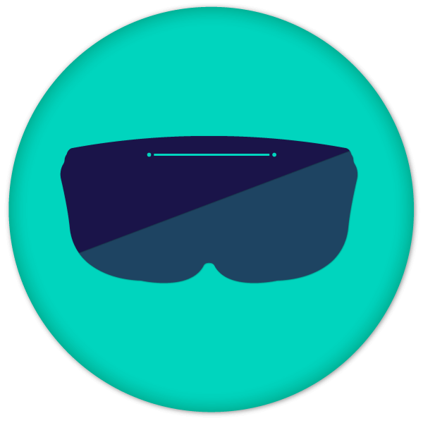 EWTS 2020 Green ar/vr glasses logo