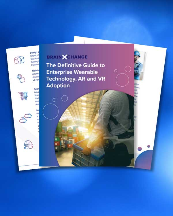 Whitepaper cover for The definitive Guide to Enterprise Technology, AR and VR Adoption