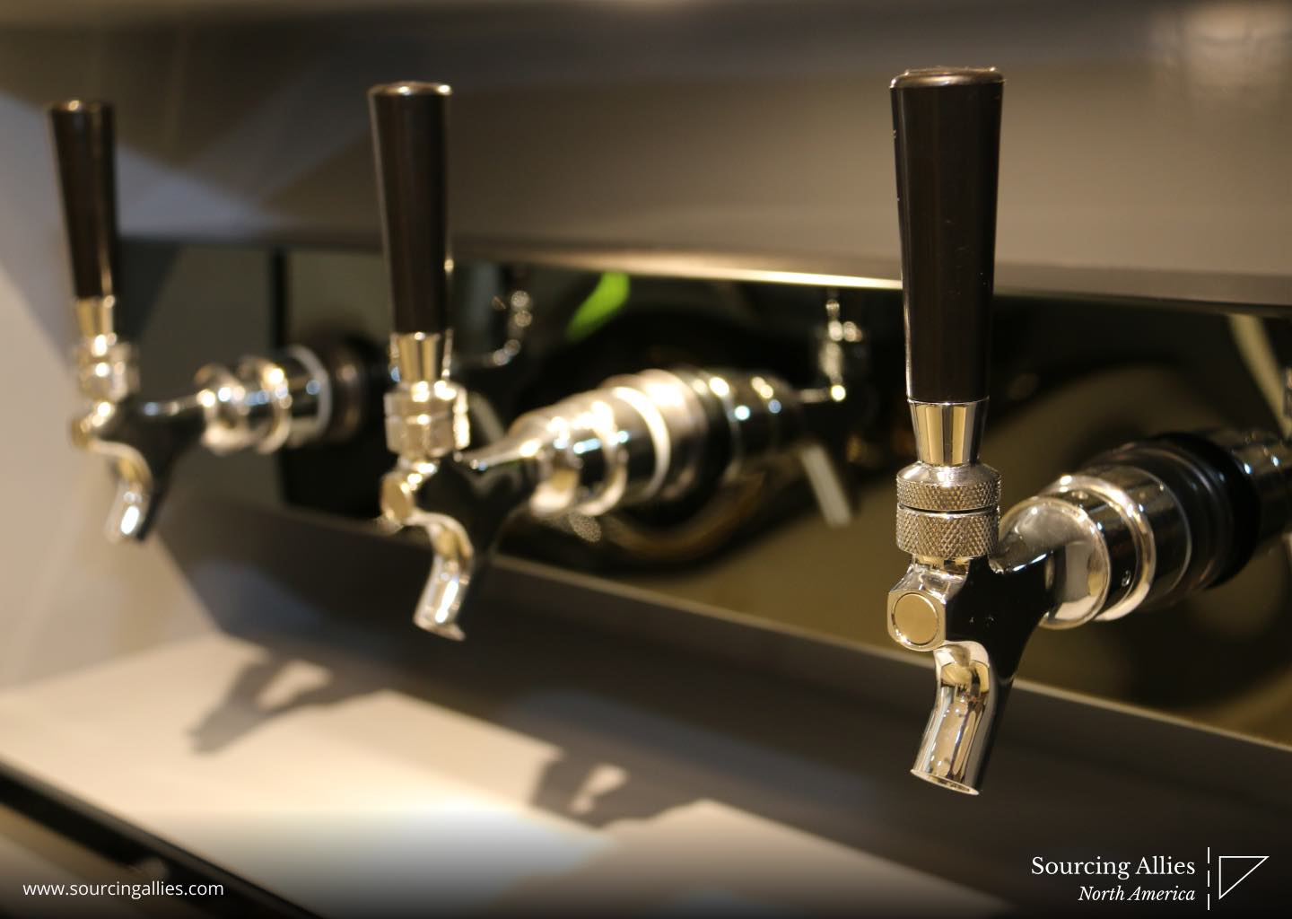 We are a China buying agent for beer taps using diecasting and plastic injection molding techniques