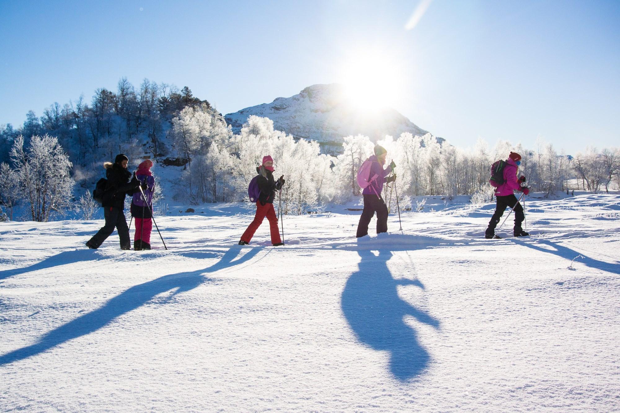 Vinter på Gullingen