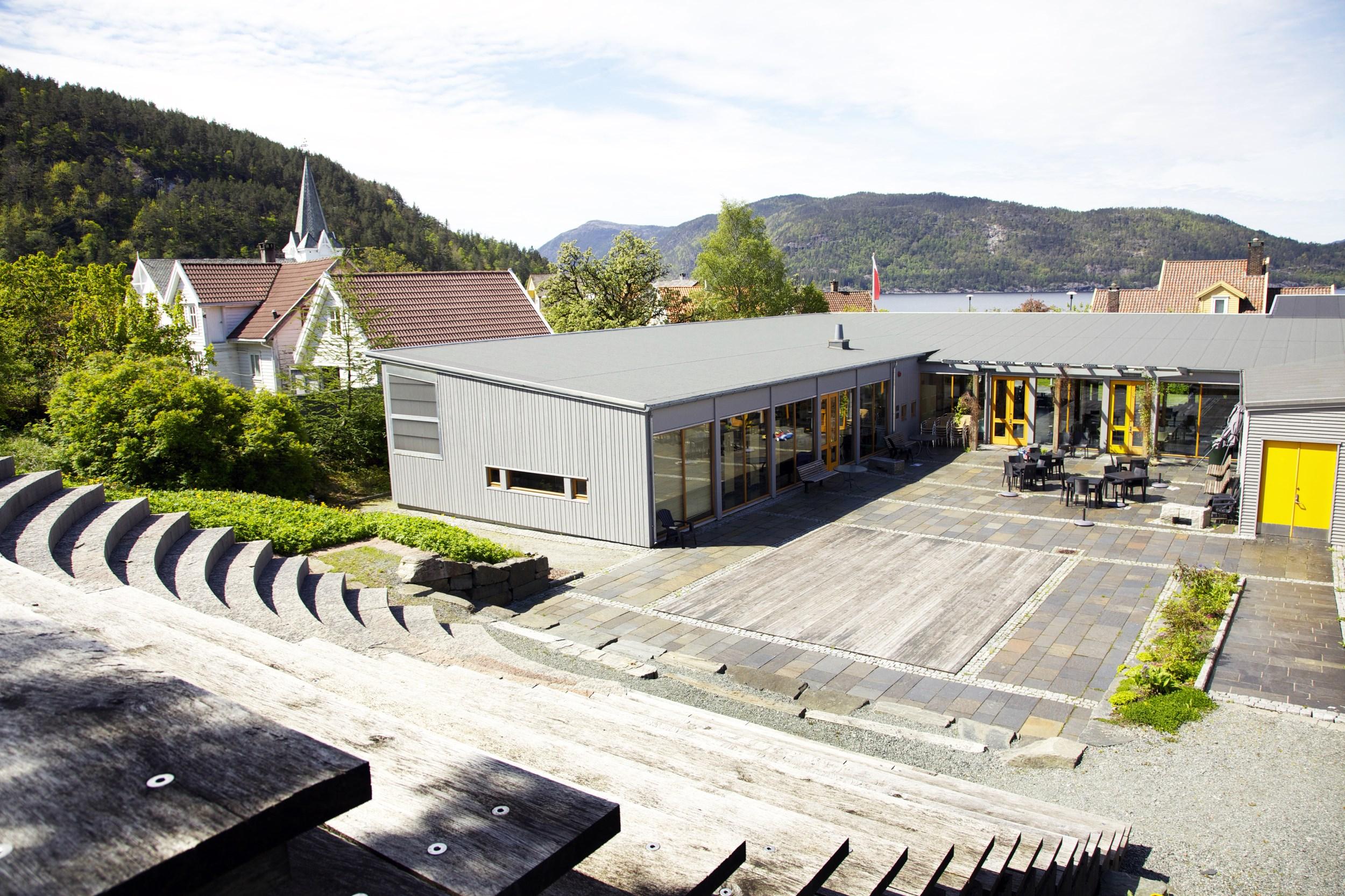 Oversiktsbilde frå Suldal kulturhus