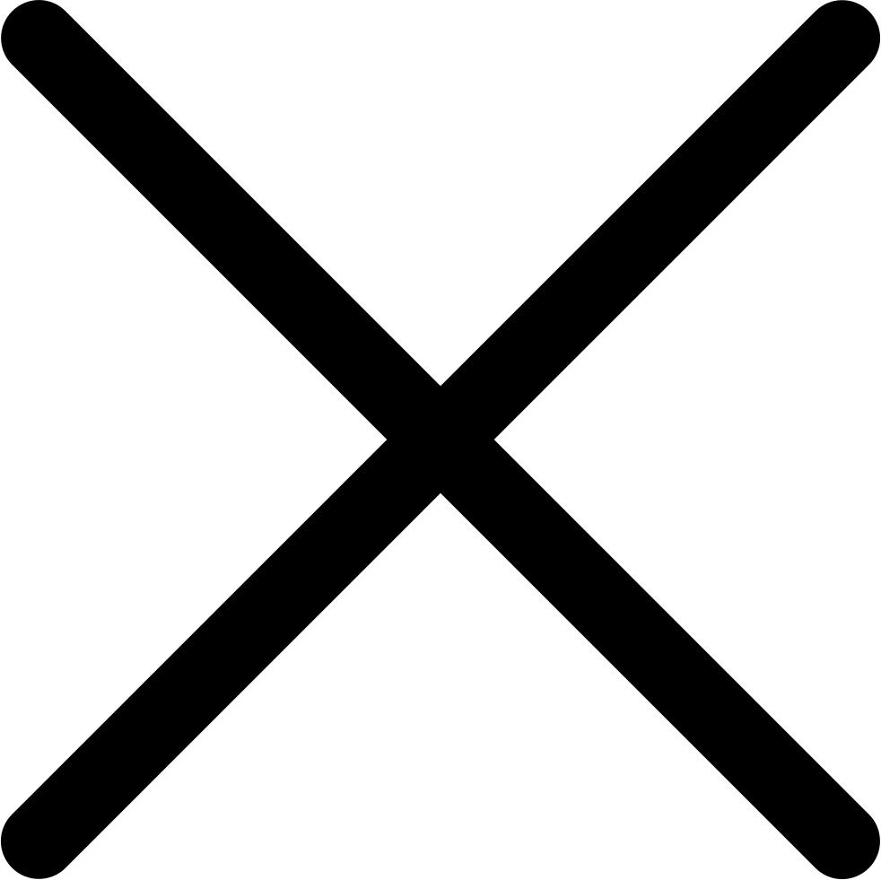 Перечеркнутая черная картинка