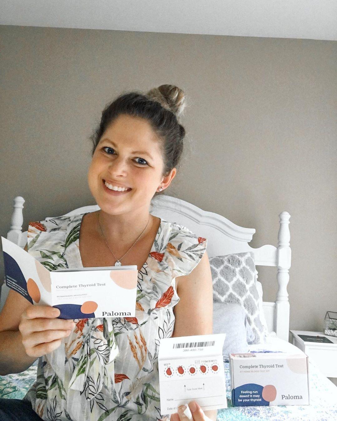 at home hashimoto's blood test kit