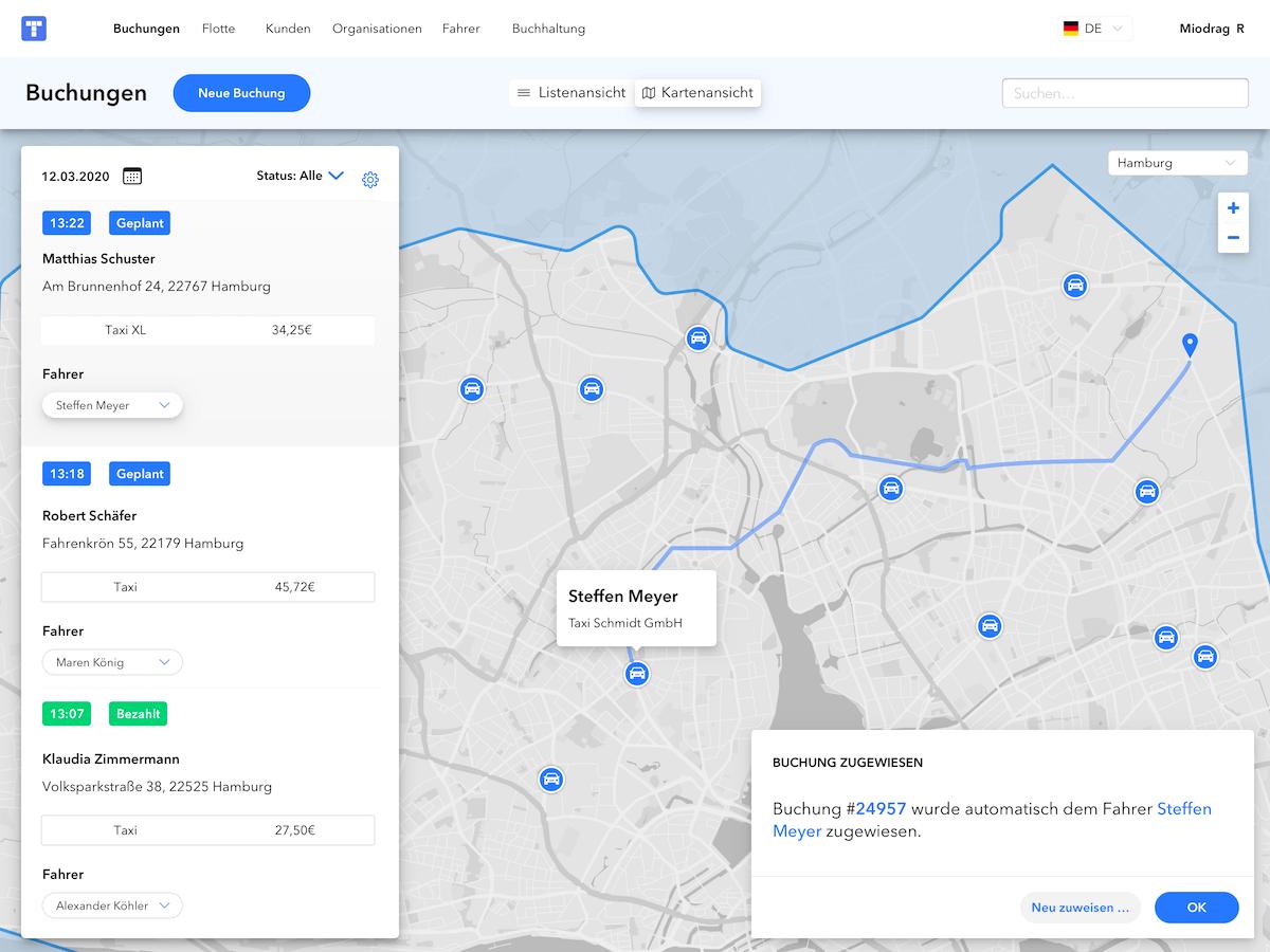 Dispositions Dashboard - Ridesharing
