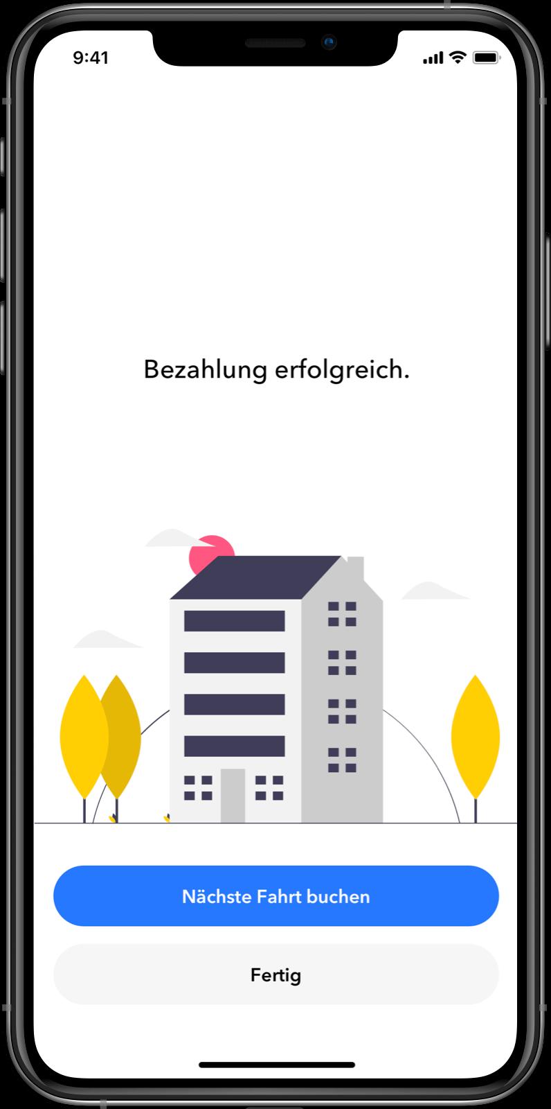 Kunden App: In-App Zahlungen