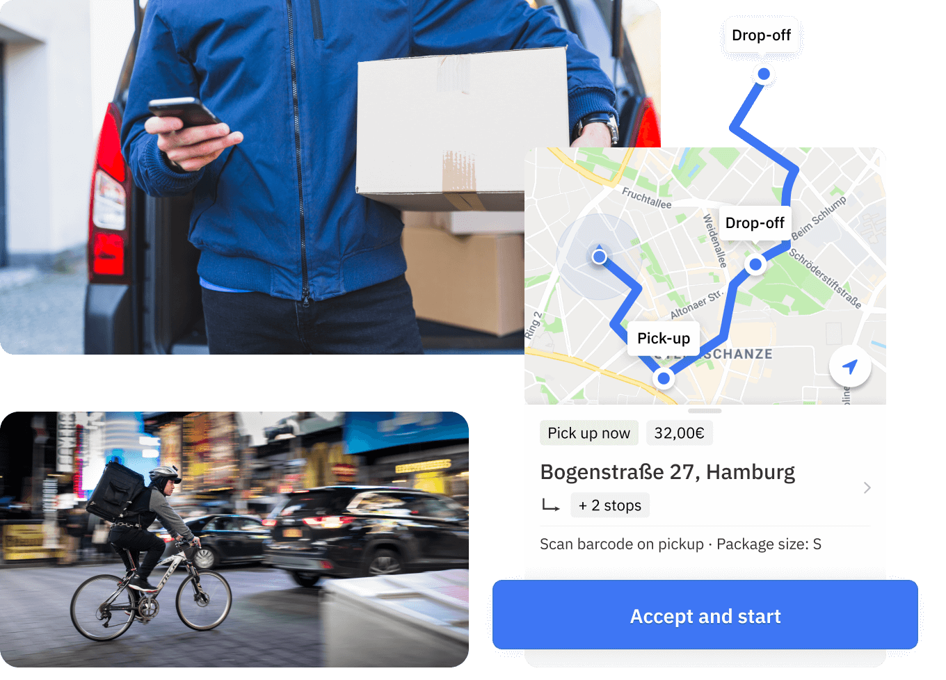 M-TOOLS delivery dispatching software