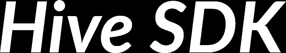 Hive SDK logo