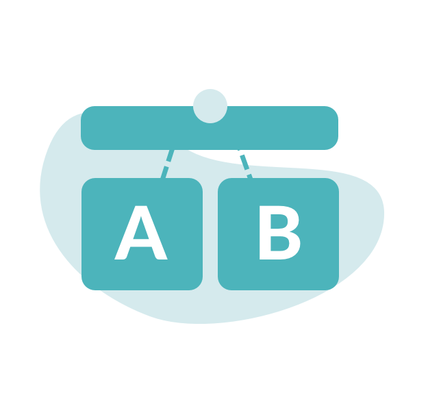Hive a/b test email marketing feature icon
