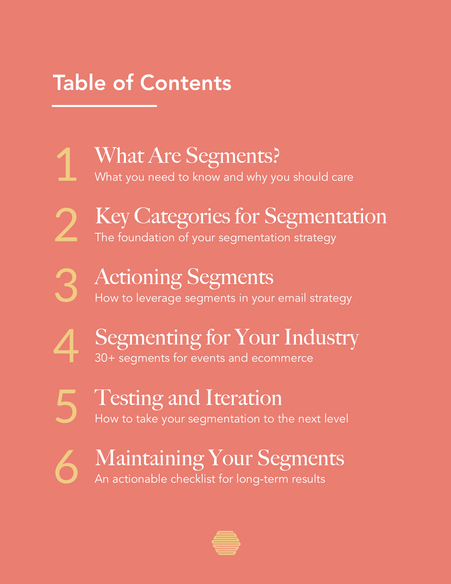 Hive.co Email Segmentation Guide Preview Page 3