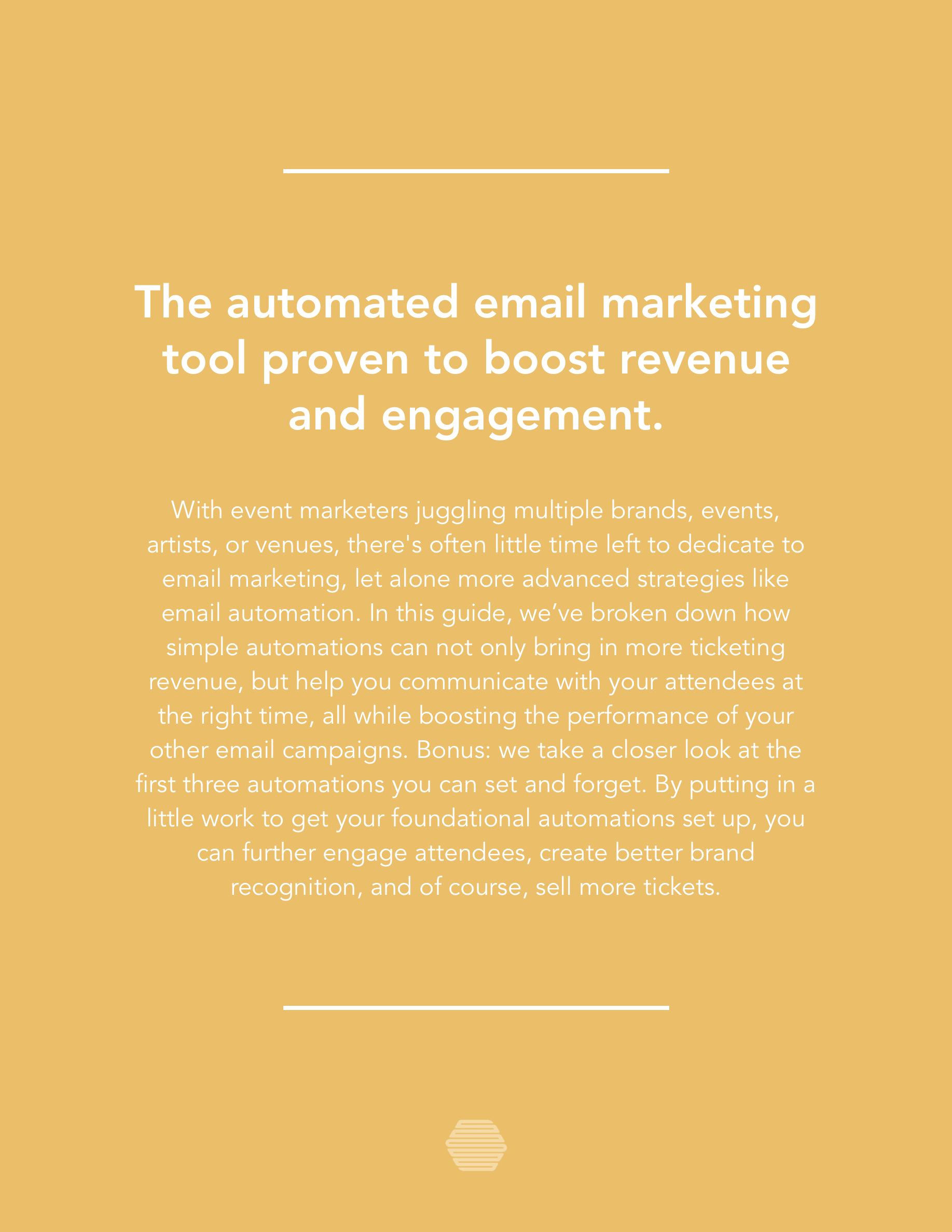 Hive.co Email Automations for Event Marketers Guide Preview Page 2