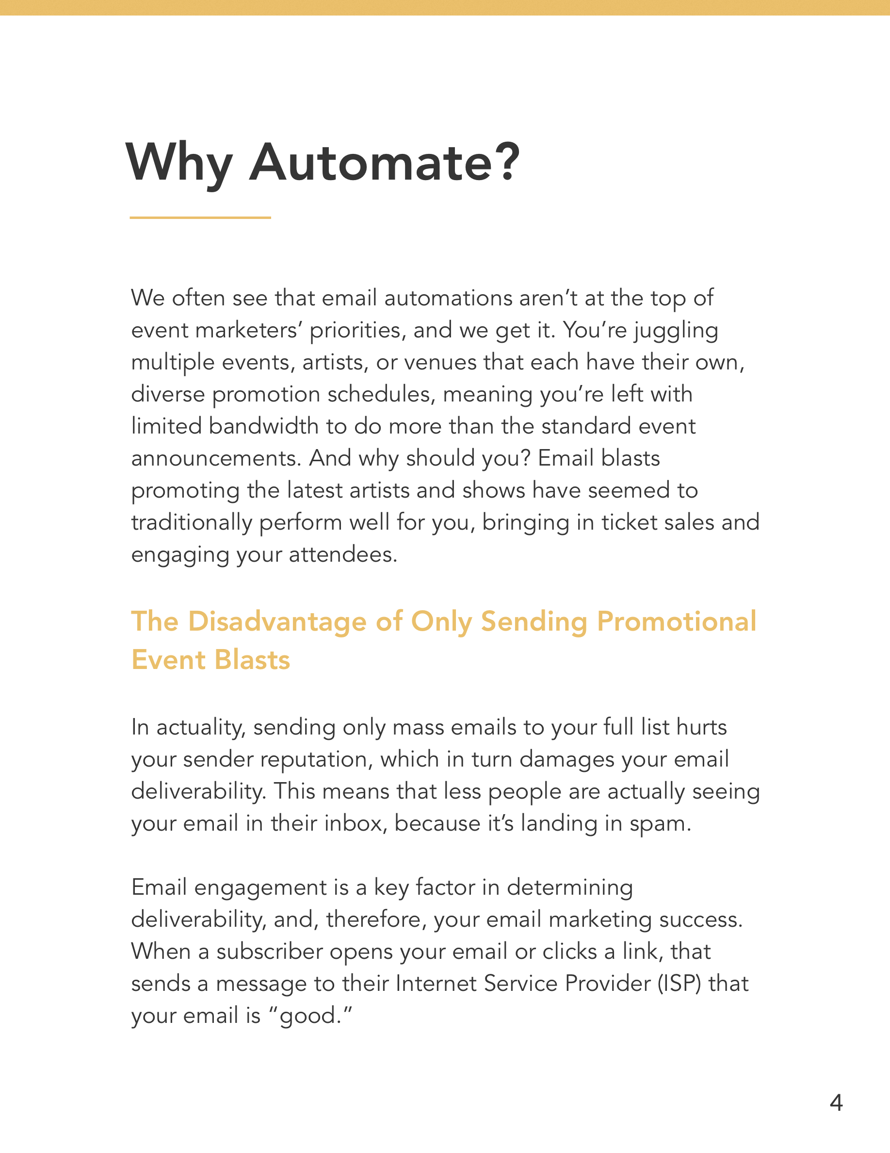 Hive.co Email Automations for Event Marketers Guide Preview Page 4