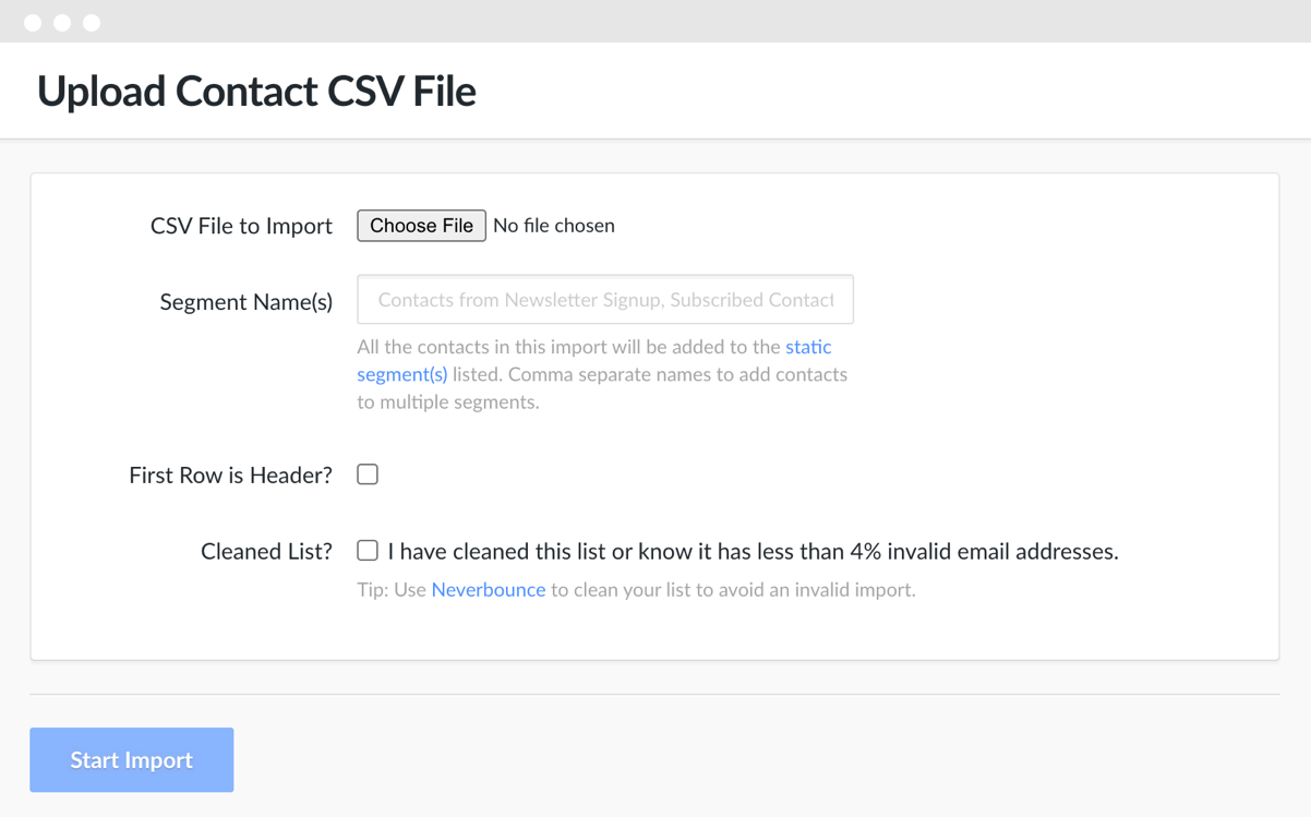 Hive CSV Importer Product Screenshot
