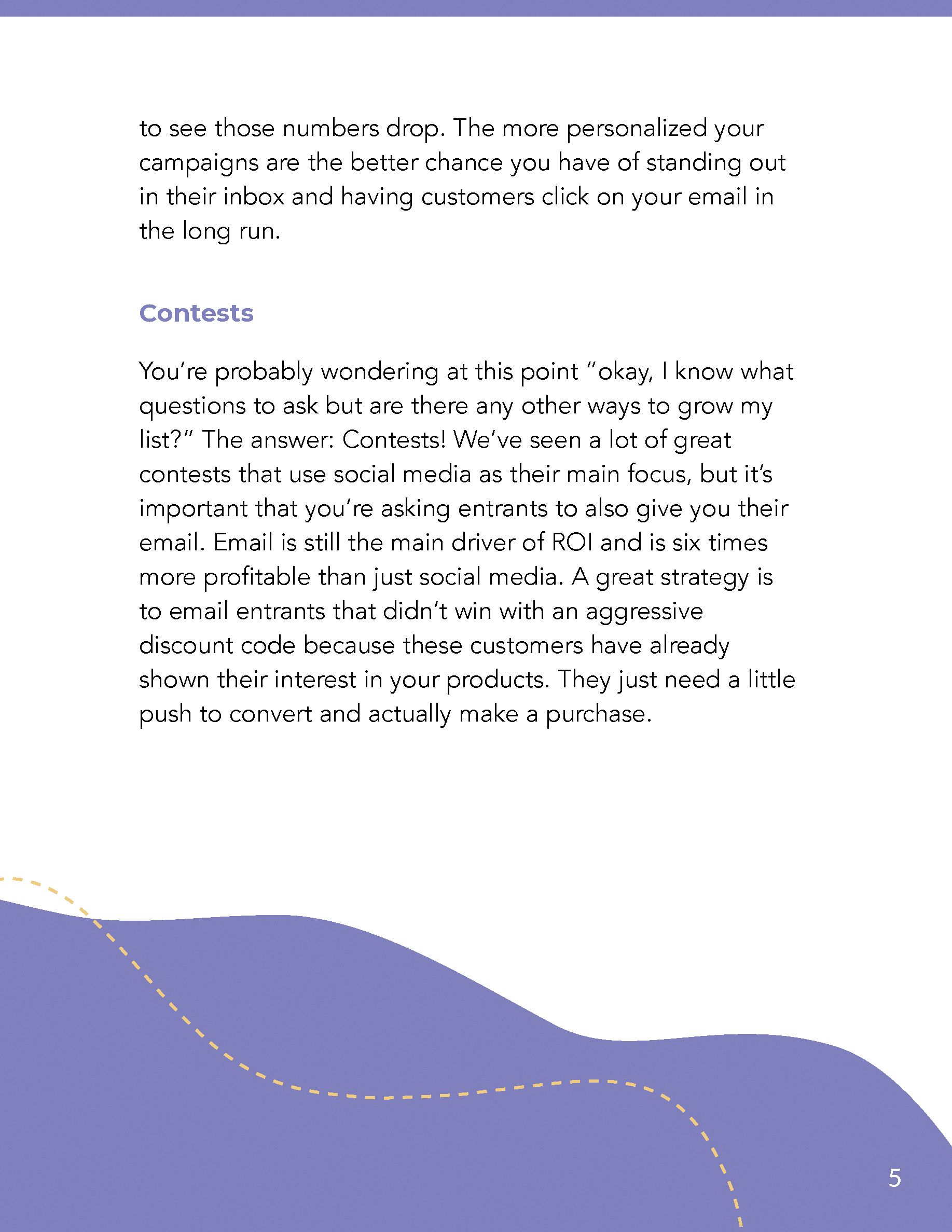 Hive.co Email Automations Guide Preview Page 5