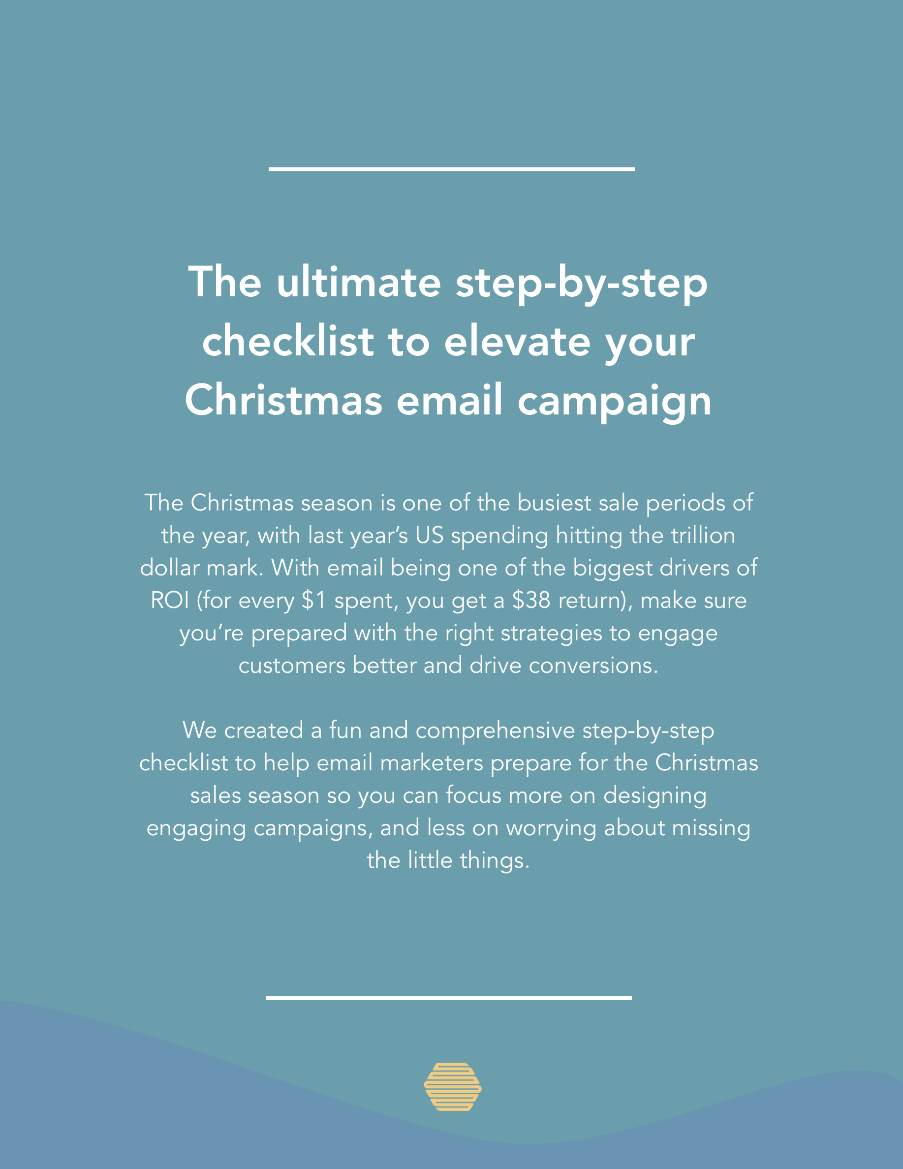 Hive.co Christmas Campaign Checklist Preview Page 1