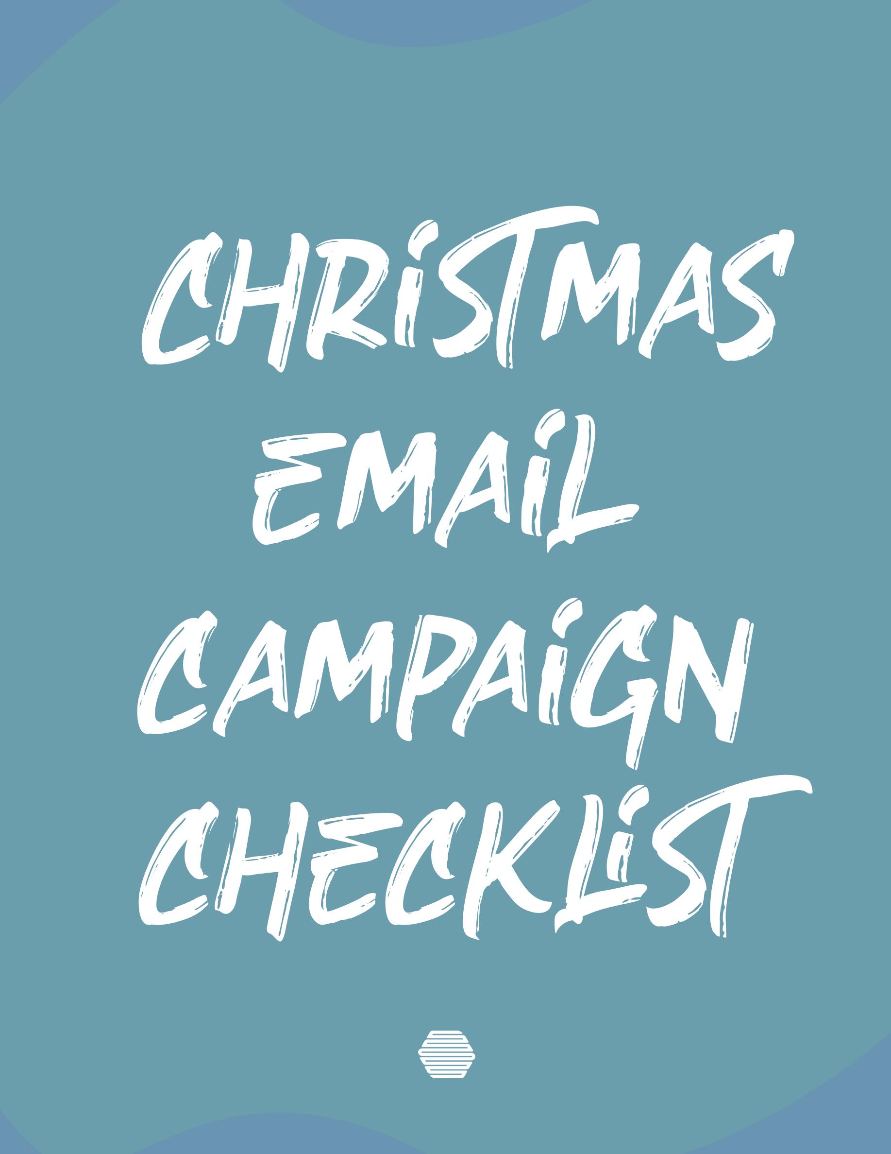 Hive's Christmas Pre-Send Checklist