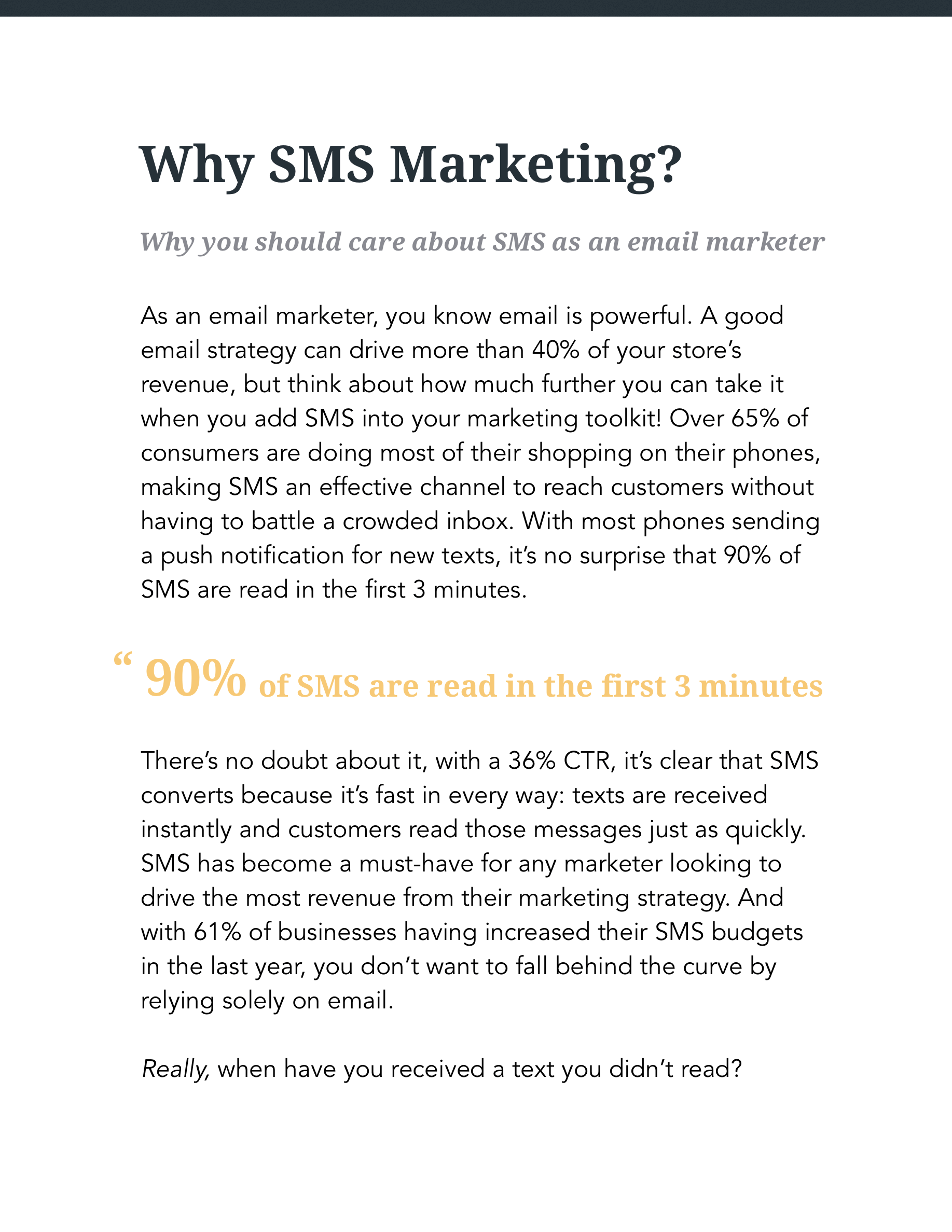 Hive.co SMS Guide Preview Page 5