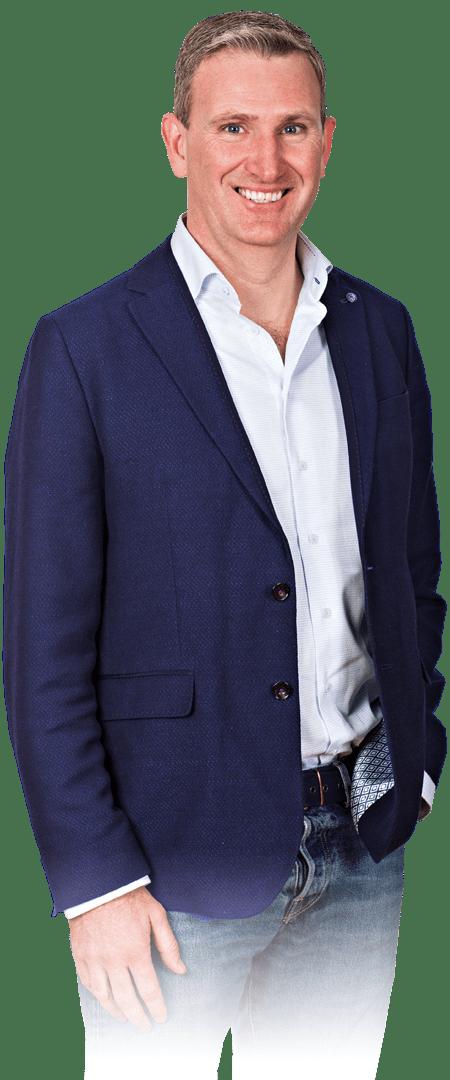 Profile portrait of Alan