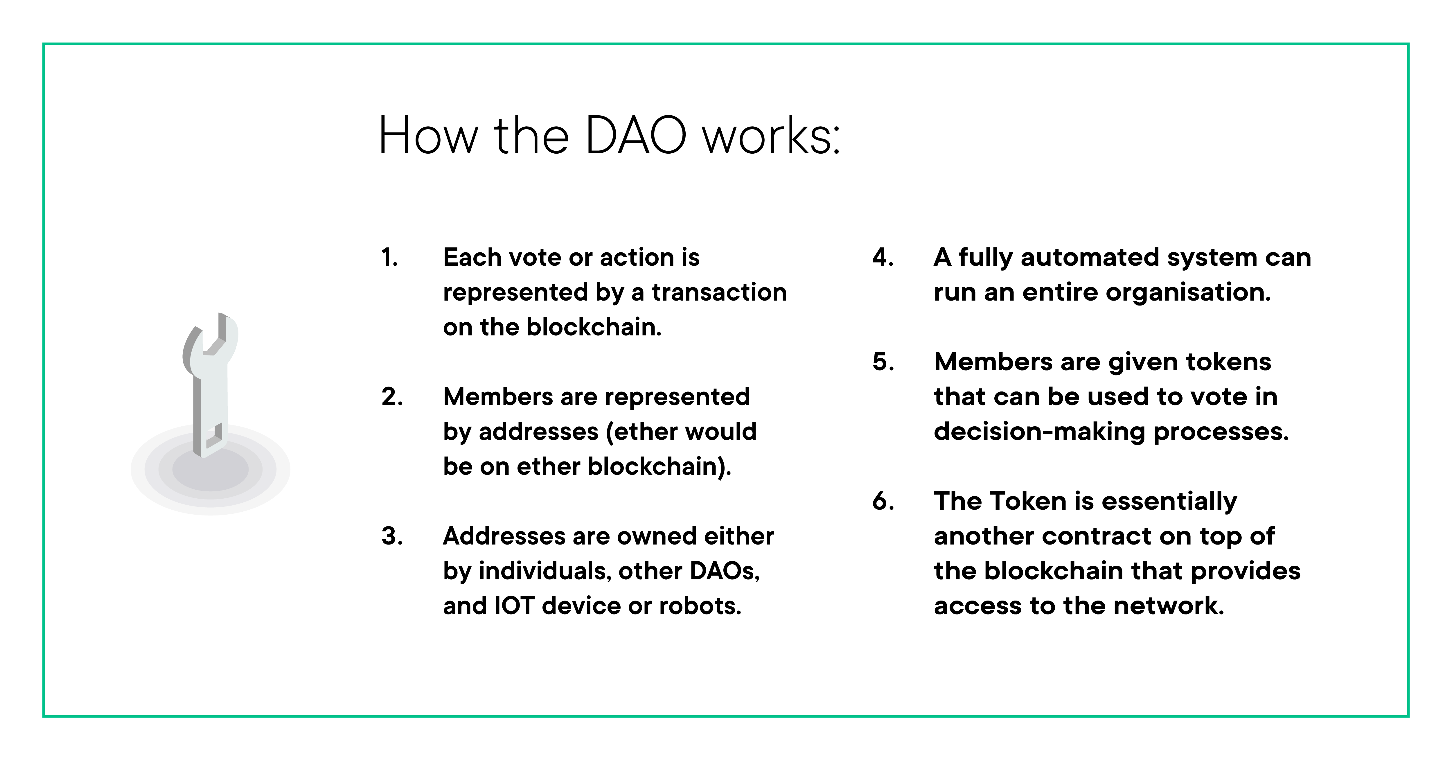 How The DAO works