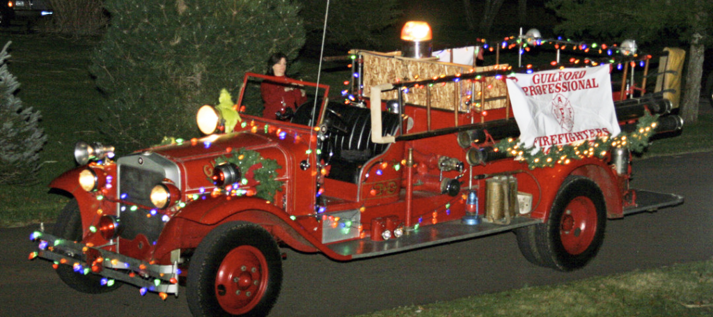 Guilford Firefighters and Veoci Partner to Help Santa