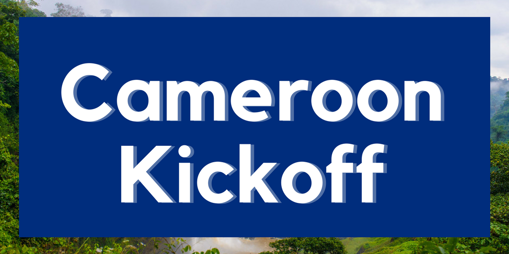 The Kickoff: Partnering with Cameroon's EOC