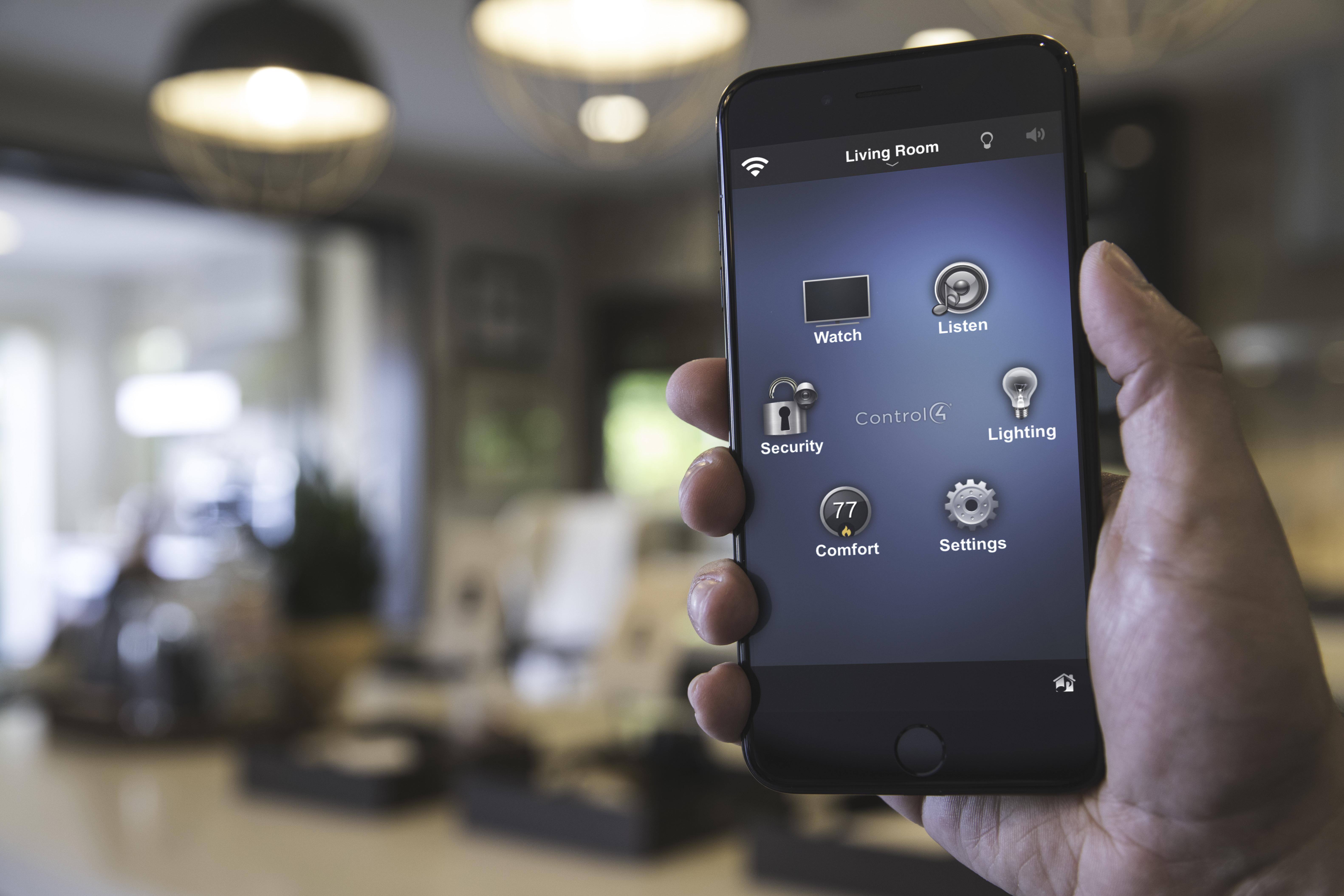 Control4 mobiili