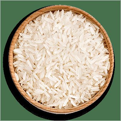 Parboiled rice bowl