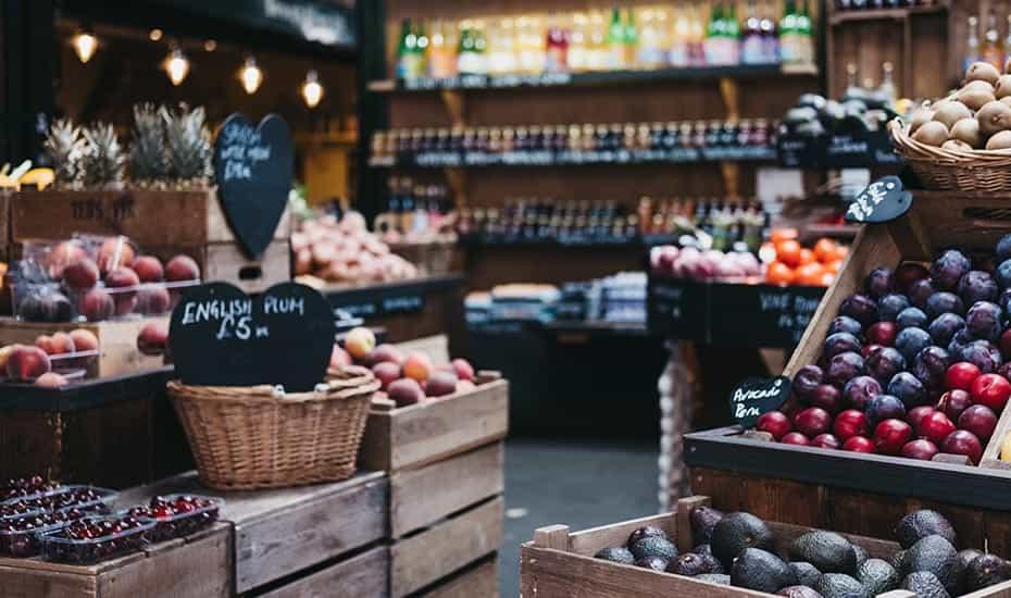 Organic vegan food local wholesaler