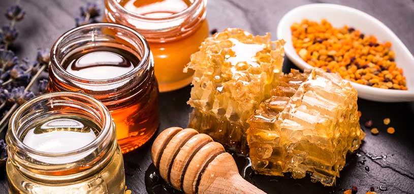 different types of organic honey
