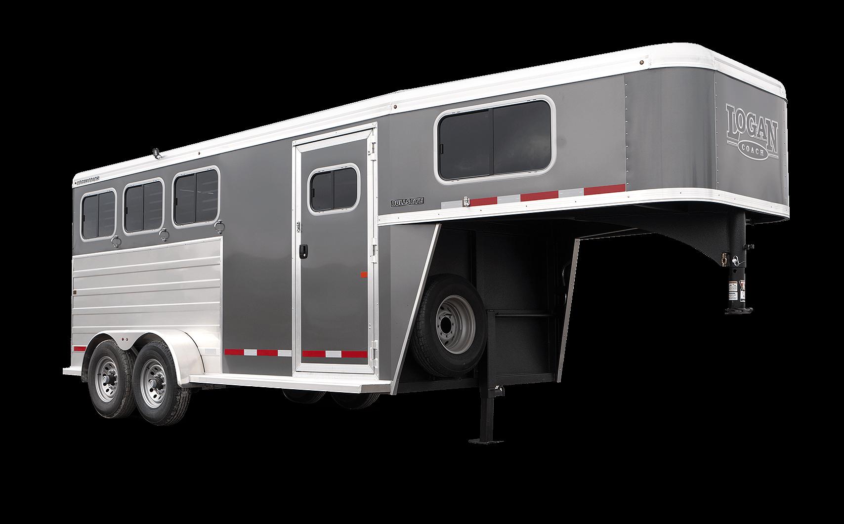 Bullseye Gooseneck Horse Trailer Logan Coach