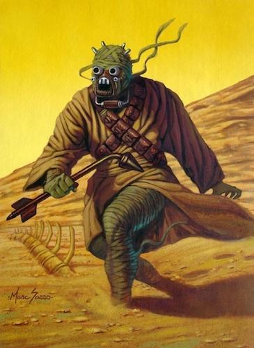 A Tusken warrior