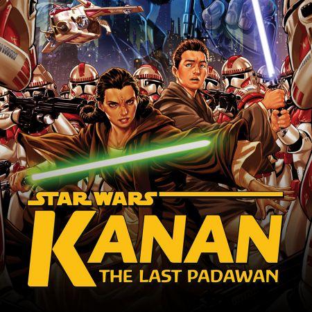Star Wars: Kanan: The Last Padawan comic image.
