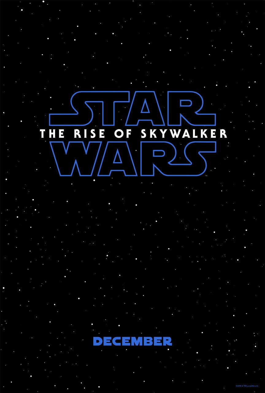Star Wars Episode IX: The Rise of Skywalker poster