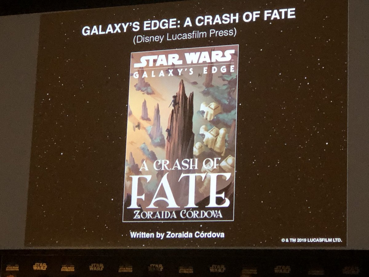 Galaxy's Edge: A Crash of Fate cover art